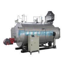 Caldera de vapor chino de 3 toneladas para la línea de producción de la infusión