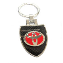 Famous Band Car Logo Metal Keychain W/toyota Logo , Zinc Alloy Material, Colorful Finish, For Souvenir Gifts And Promoti