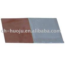 Bimetallic adapter plate