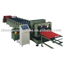 Máquina formadora de rolos, máquina de formação de telhas revestidas com vidros, máquina de cobertura para garagem