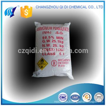 CAS NO.7727-54-0 prix d'usine persulfate d'ammonium