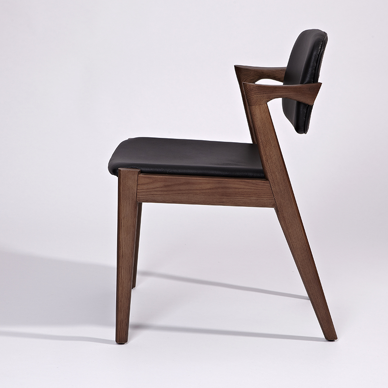 Wooden frame dining chair
