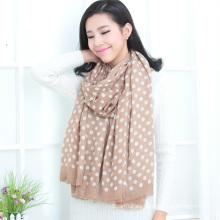 Mantón estampado de lana (13-BR020302-8.1)