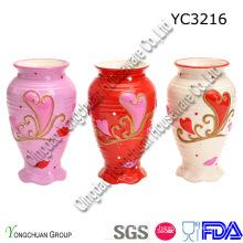 Vase en céramique pour le décor de mariage