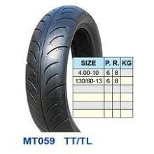 Neumático de la motocicleta 4.00-10 130/60-13