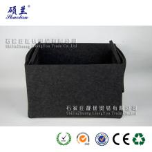 Wholesale new design felt storage bag basket