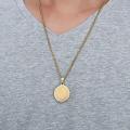 Мусульманский кулон ювелирные изделия аллах ожерелье золото мужские