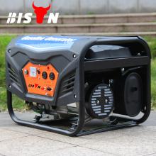 BISON China Taizhou Fase monofásica refrigerada a ar 5KW Silent Honda Gasoline Generator com CE