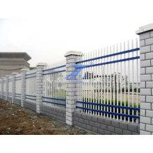 Clôture de mur en acier avec la colonne de ciment (TS-E138)
