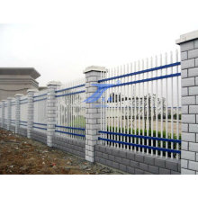 Steel Wall Fence with Cement Column (TS-E138)