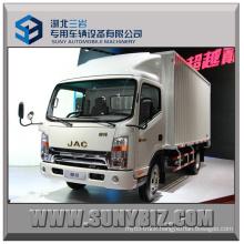 3t 4t 5t JAC 4X2 Rhd Light Crago Box Truck