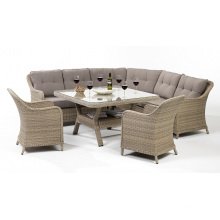 Rattan Wicker Garden Patio Outdoor Sofa Dining Set