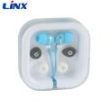 Christmas gift fancy earphone in the plastic case