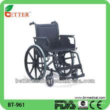 Стальная инвалидная коляска