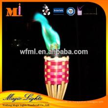 Protección ambiental de buena apariencia Color Flame Candle
