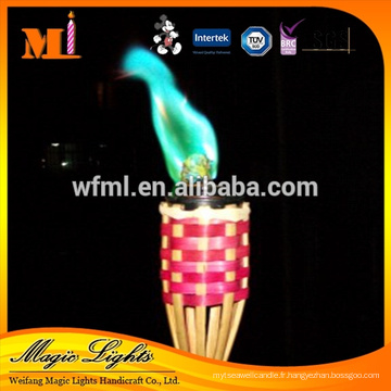 Bonne bougie de flamme de couleur de protection de l'environnement
