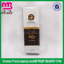 auto machine made side gusset square bottom coffee packaging bag