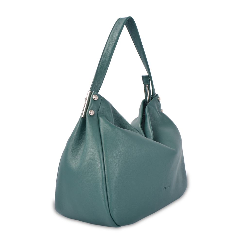 new design for ladies soft fashion leather hobo bags