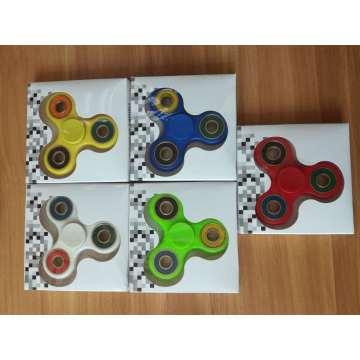 608 палец Непоседа вертушка игрушка три-Спиннер Ручная вертушка для снятия стресса