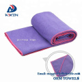 Professional manufacturer for gym yoga sports towel microfiber suede towel