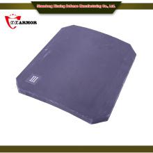 PE&AL2O3 NIJ level III Ceramic Composite Plate