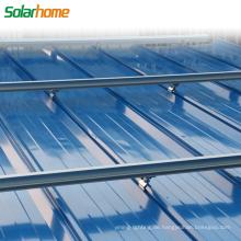 Aluminiumlegierungsmaterial oder Feuerverzinkter Stahl auf PV-Solarmontagesystem