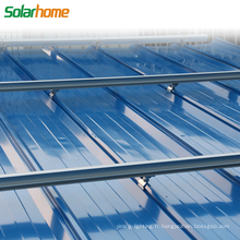 Matériau en alliage d'aluminium ou acier galvanisé à chaud sur le système de montage solaire PV de grille