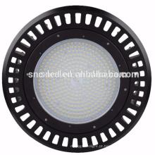 Luz baixa da baía do diodo emissor de luz do UFO do diodo emissor de luz de SNC 240w baixa com opções do vidro e da lente