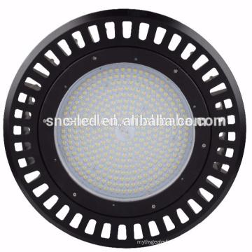 SNC 240w LED UFO High Bay Light Luz baja bahía con opciones de cristal y lente