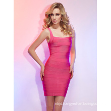 Sheath Column Straps Short Mini Bandage Dresses