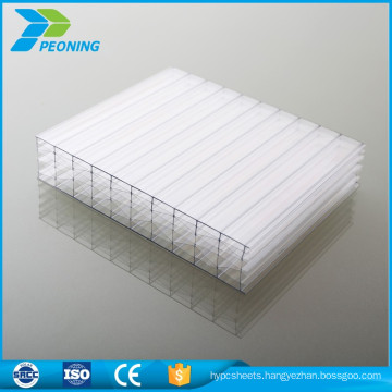 Hot sale factory directly lexan transparent thermal insulation bayer polycarbonate plastic double wall pc sheets