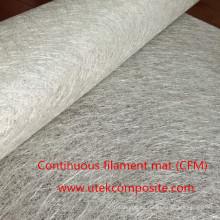 Estera de filamento continuo de buena superficie para proceso de molde cerrado