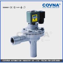 """Válvula solenóide limpa a ar, válvula elétrica de impulso, válvula solenóide de 3/4 """"de alumínio"""