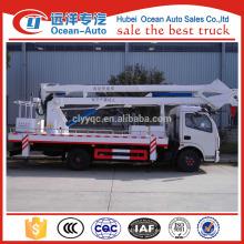 Dongfeng 4 * 2 camión de trabajo 18m alto (altura máxima de trabajo 18 m)