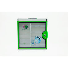 Large Customized Emergency Medicial Safety Storage Box With Drawers