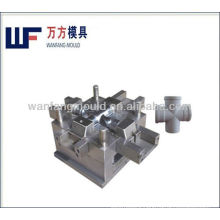 pvc pipe fitting mould,cross shape pipe fitting injection molding