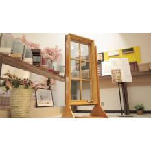 El precio de la ventana de cristal moderado SGCC certificado por NAMI / AAMA / SDA / WDMA de EE. UU. De la ventana de aluminio de madera