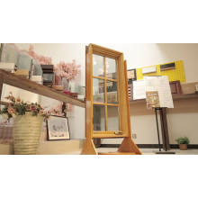 American Style NAMI Certified Wood Aluminum Crank Out Windows in accordance to U.S. Building Code