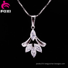 Factory Wholesale Clear Gemstone Pendant
