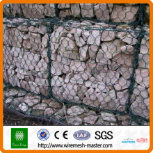 Stone basket gabion mesh