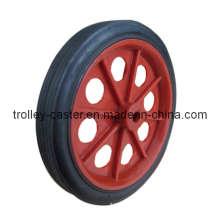 Luggage Trolley Caster / Castor Rubber Wheel