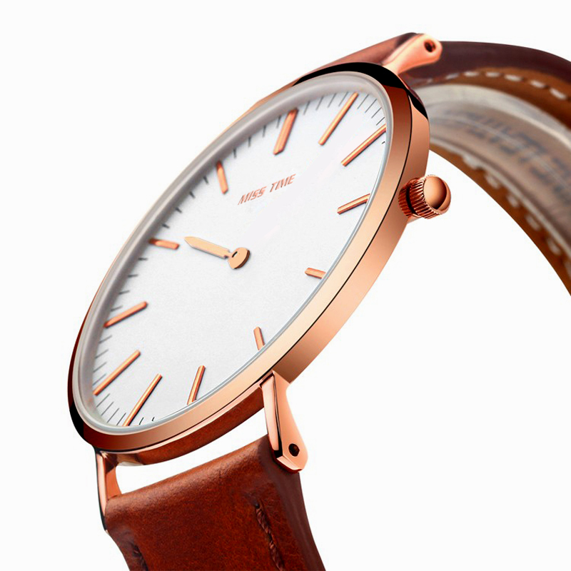 newest design one hand quartz watch promotion japan movt