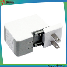 Carregador de parede dupla porta USB 5V / 2.5A