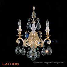 Candle chandelier wall sconce crystal wall lamp 3 arms table light