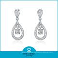 Großhandel 925 Silber Ohrring mit Fabrik Preis (E-0056)