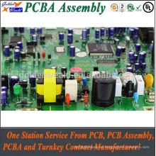 PCBA de alta calidad del tablero del inversor de corriente con la asamblea del pcba del smt / dip del disipador de calor y de la certificación del CE