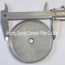 Stainless steel super fine filter disc