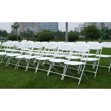 Hot Sales Outdoor PP cadeiras dobráveis plásticas para casamento