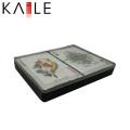 Plastique imprimé personnalisé jouant le cas de carte de poker