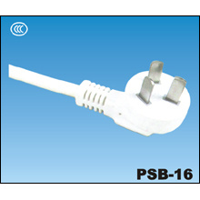 China CCC 3 Pin Power Plug PSB-16